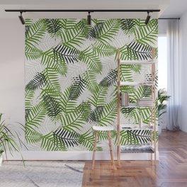 Light Ferns Wall Mural