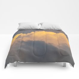 Walking on cloud 9 Comforters