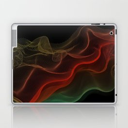 Almost Fluorescent Aurora String Theory #3  Laptop & iPad Skin