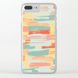 Summer Cheer | Light & Bright Paint Swatches Clear iPhone Case