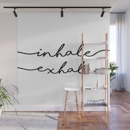 PRINTABLE Art,INHALE EXHALE,Fitness Poster,Workout Print,Gym Decor,Motivational Print,Inspirational Wall Mural