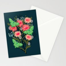 Luna Moth Florals by Andrea Lauren  Stationery Cards