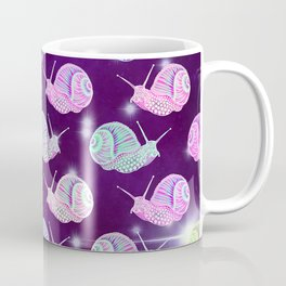 Psychedelic Space Snail Coffee Mug
