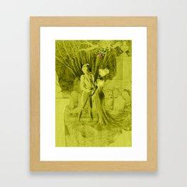 Gothic christmas Framed Art Print