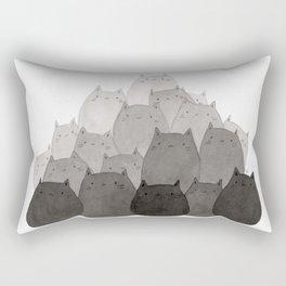 Kitty Pile Rectangular Pillow