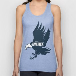 Make America Great Again Eagle, USA Unisex Tank Top