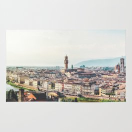Florence, Italy Panorama Rug