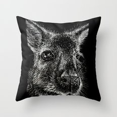 The Wallaby Throw Pillow