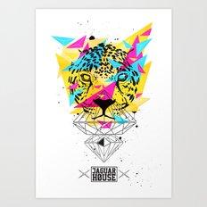 JAGUAR HOUSE Art Print