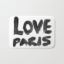 Love Paris Bath Mat