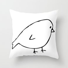 Chirpy Throw Pillow