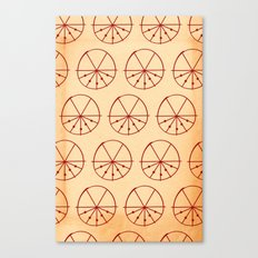 Circle Sections Canvas Print