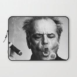 Jack Nicholson Cigar Laptop Sleeve