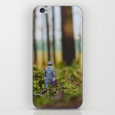 In Search of Bigfoot (Ode to Thoreau) iPhone & iPod Skin