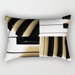 The Healing Keys Rectangular Pillow