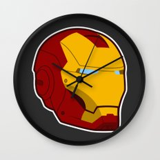 He Doesn't Play Well With Others Wall Clock