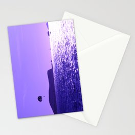 Para Gliding in Moonlit Skies Stationery Cards