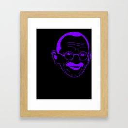 I __ Peace Framed Art Print