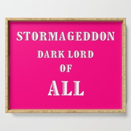 Doctor Who: Stormageddon Dark Lord of All Serving Tray