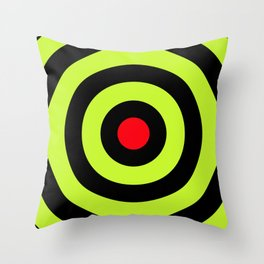Target (Shooting) Throw Pillow