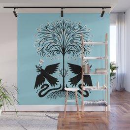 raven garden gift Wall Mural