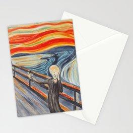 Scream Selfie Stationery Cards