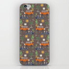 The Van Life (Pattern Vers.) iPhone Skin
