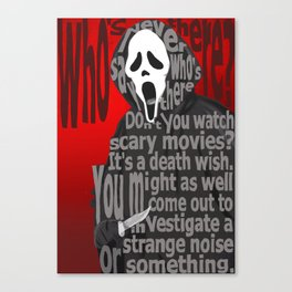 It's Gonna Be a Scream, Baby Canvas Print