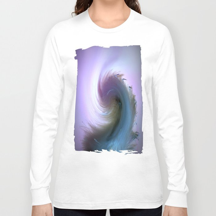 Swirled Long Sleeve T-shirt