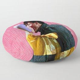 Singin' in the Rain - Pink Floor Pillow