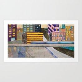 Nisja: the night train 2 Art Print