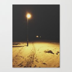 Into the dark side Canvas Print