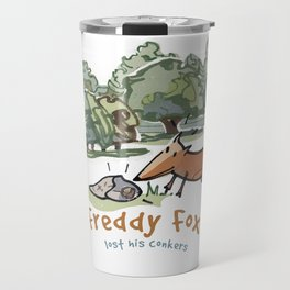 Freddy Fox Lost His Conkers Cover Travel Mug