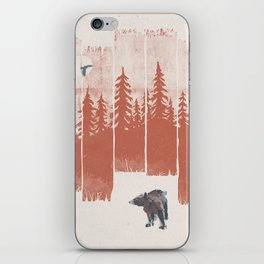 A Bear in the Wild... iPhone Skin