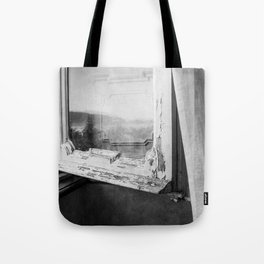 I am a visitor - A window in Tuscany Tote Bag