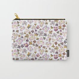 Scattered Hydrangea Carry-All Pouch