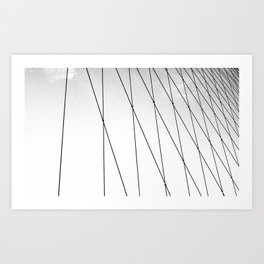 BROOKLYN BRIDGE / NEW YORK Art Print