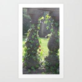 Nature Vs Manmade Art Print
