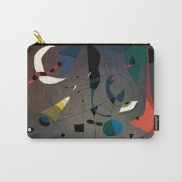 Miró's Ghost Wakes Up from a Bad Reality Carry-All Pouch
