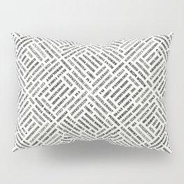 CSI TERMINOLOGY Pillow Sham