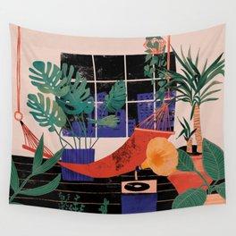 Urban jungle dream Wall Tapestry