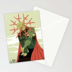8 of Swords Stationery Cards