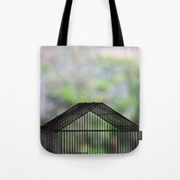 cage Tote Bags featuring Cage by dora-isa