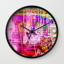 More Or Less Wall Clock