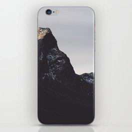 Dark Mountains #society6 #buyart iPhone Skin