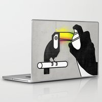 toucan Laptop & iPad Skins featuring Toucan by martiszu