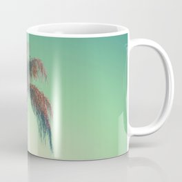 Red palm tree Coffee Mug