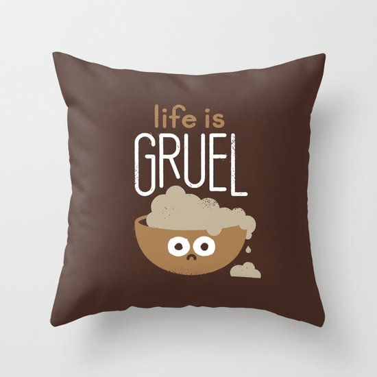 Consider Yourself... Warned Throw Pillow
