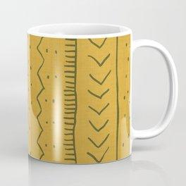 Moroccan Stripe in Mustard Yellow Coffee Mug