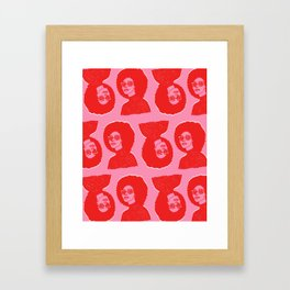 Kara Pattern Framed Art Print
